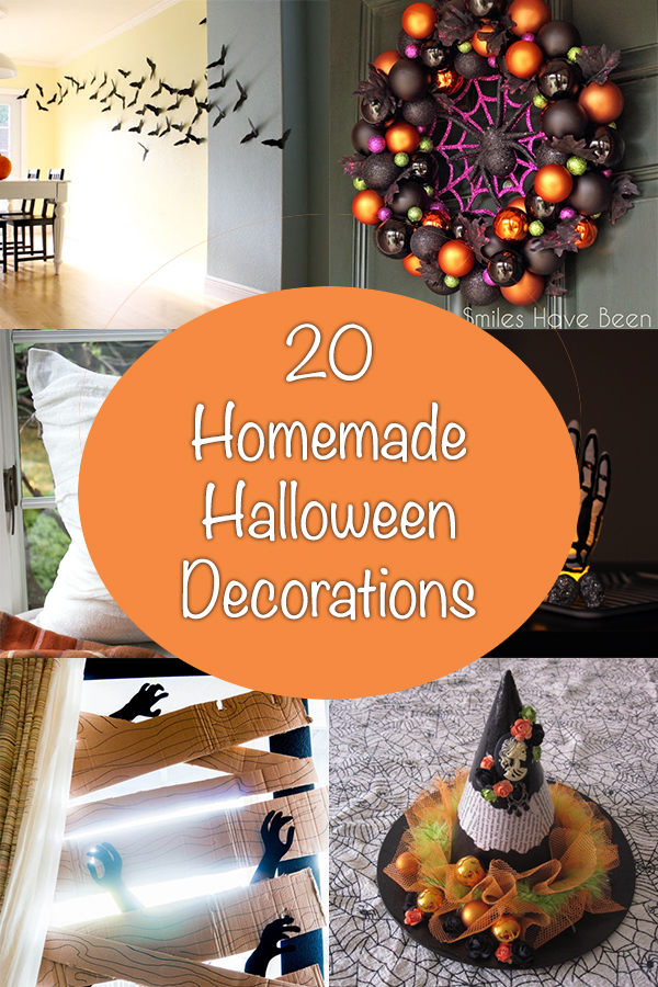 20 Homemade Halloween Decorations