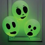 Glowing Balloon Ghosts