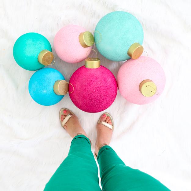 Huge Colorful Ornaments