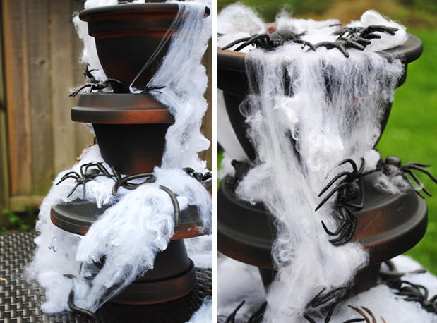 Spider-Filled Fountain