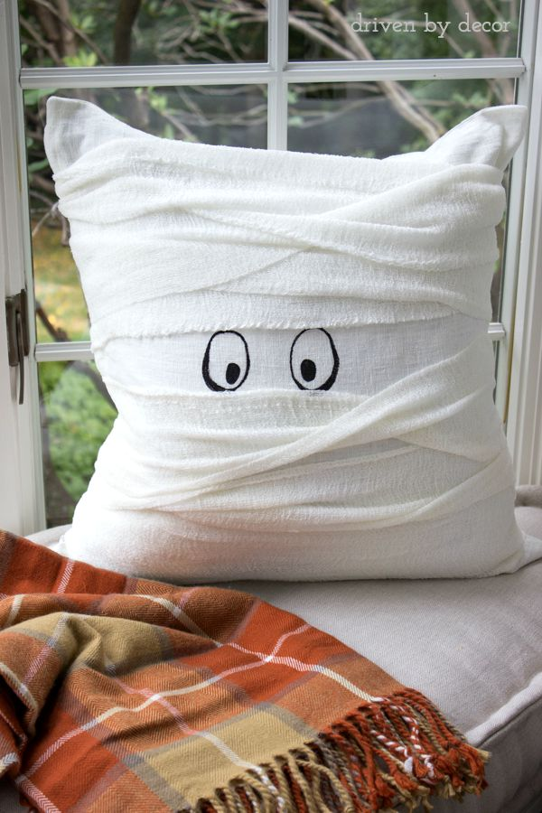 little mummy pillow