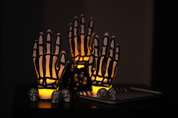 spooky skeleton hands