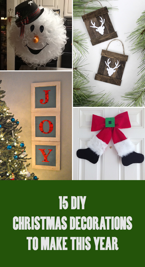 15 Best DIY Christmas Decorations To Make This Year