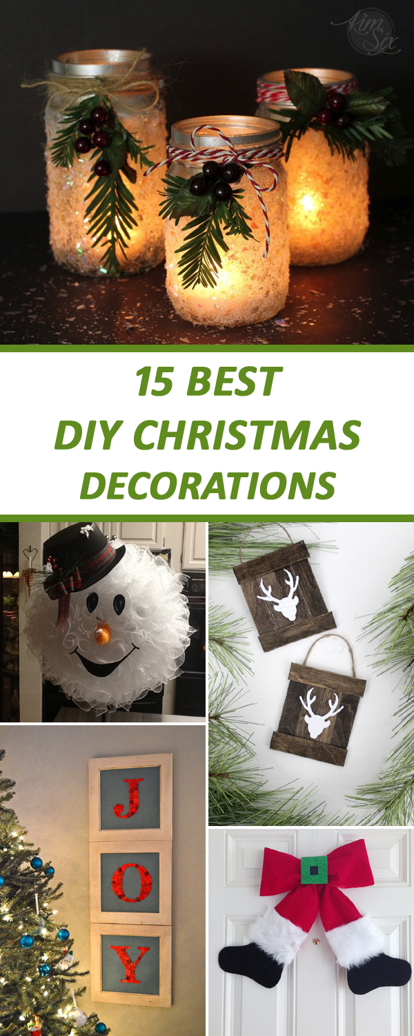 15 Best DIY Christmas Decorations To Try This Year