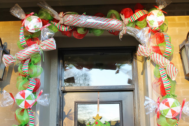 Big candy garland