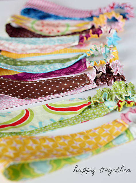 Double-Sided Fabric Headbands