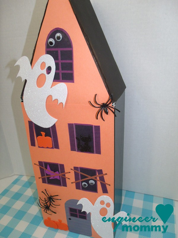 Haunted House From a Shoe Box