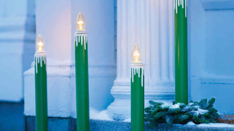 Outdoor Candle Lamps