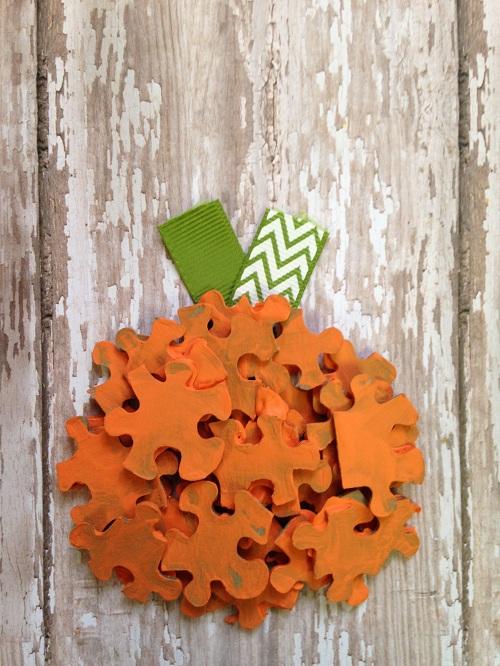 Puzzle Pumpkin