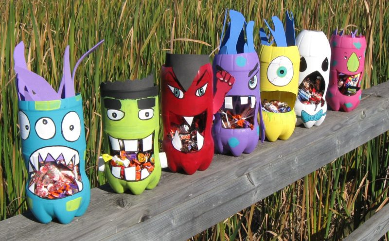 Soda Bottle Monsters