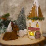 mason jar elf cottage