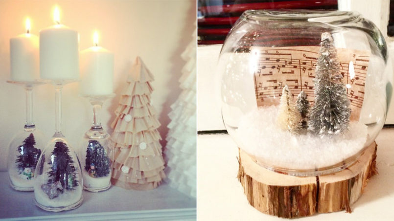 Christmas Snow Globe Ideas