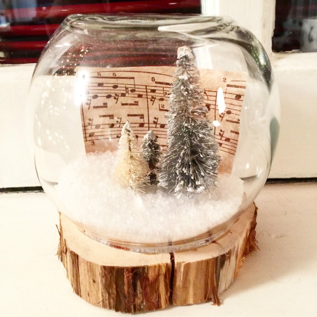 Fishbowl Snow Globe