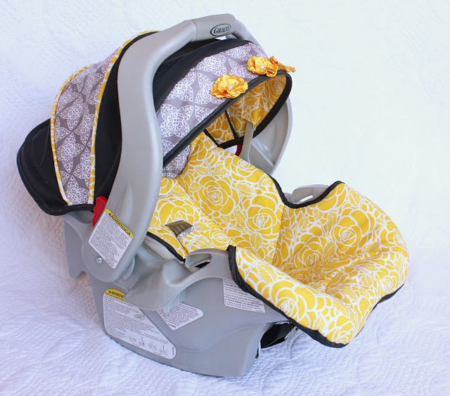 Infant Carrier Carseat Cover