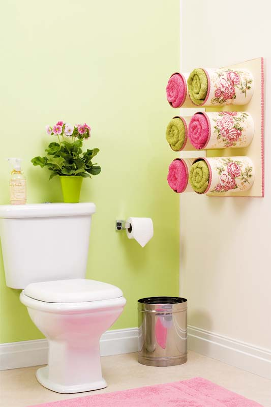 Tin Can Towel Holders