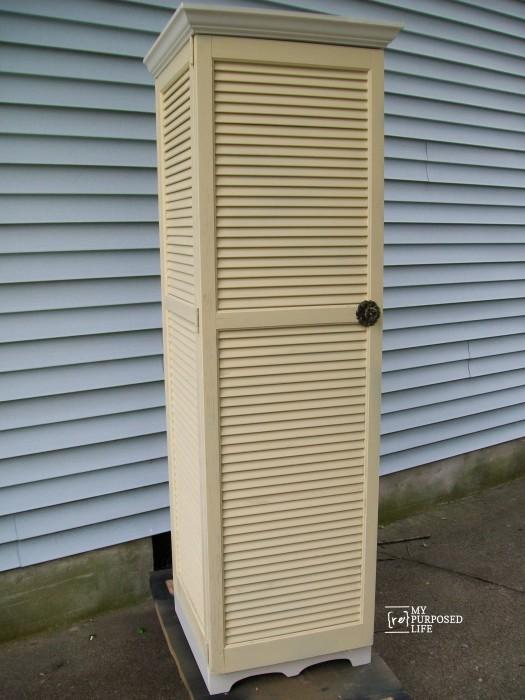 shutter cupboard