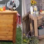 DIY outdoor bars