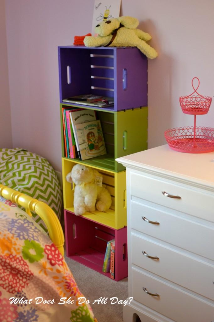 Simple Colorful Bookshelf