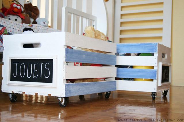 Toybox on Wheels