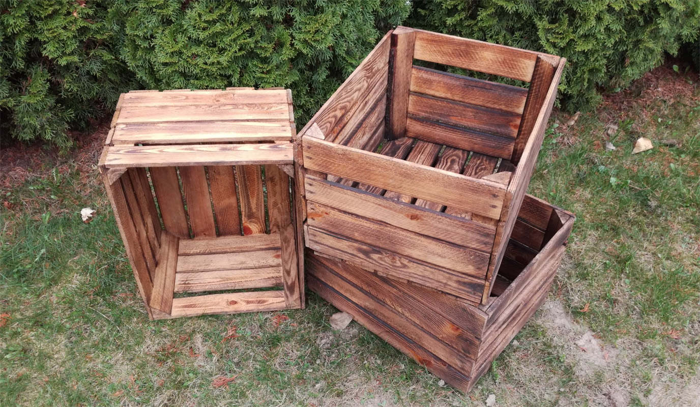 15 diy wood crate furniture projects for Diy crate furniture