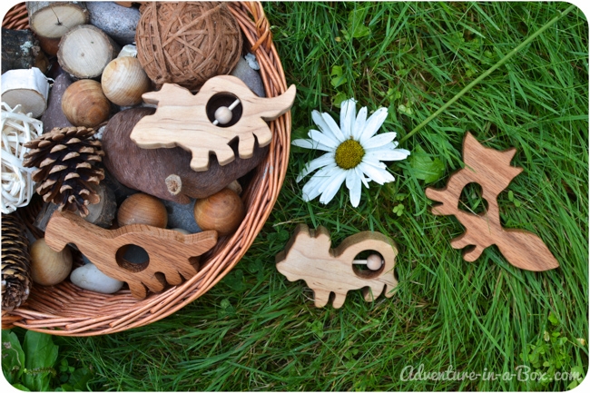 Wooden Rattles and Teethers