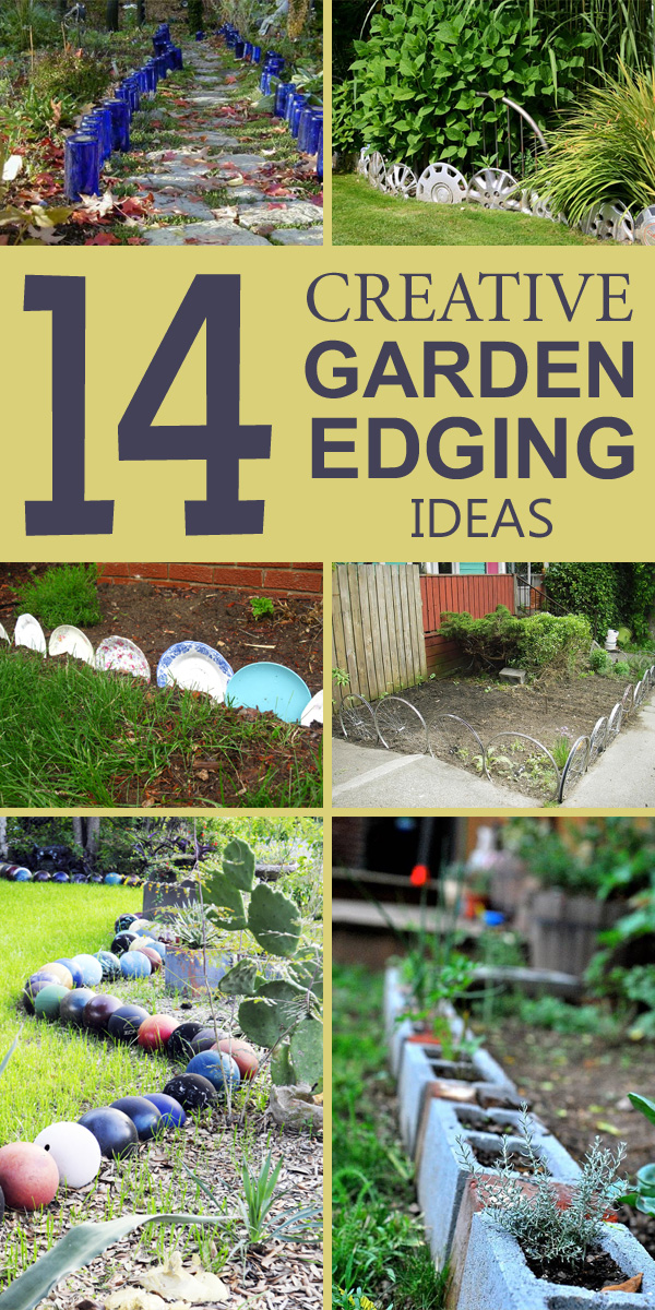 14 Creative Garden Edging Ideas That Will Make Your Garden Stand Out