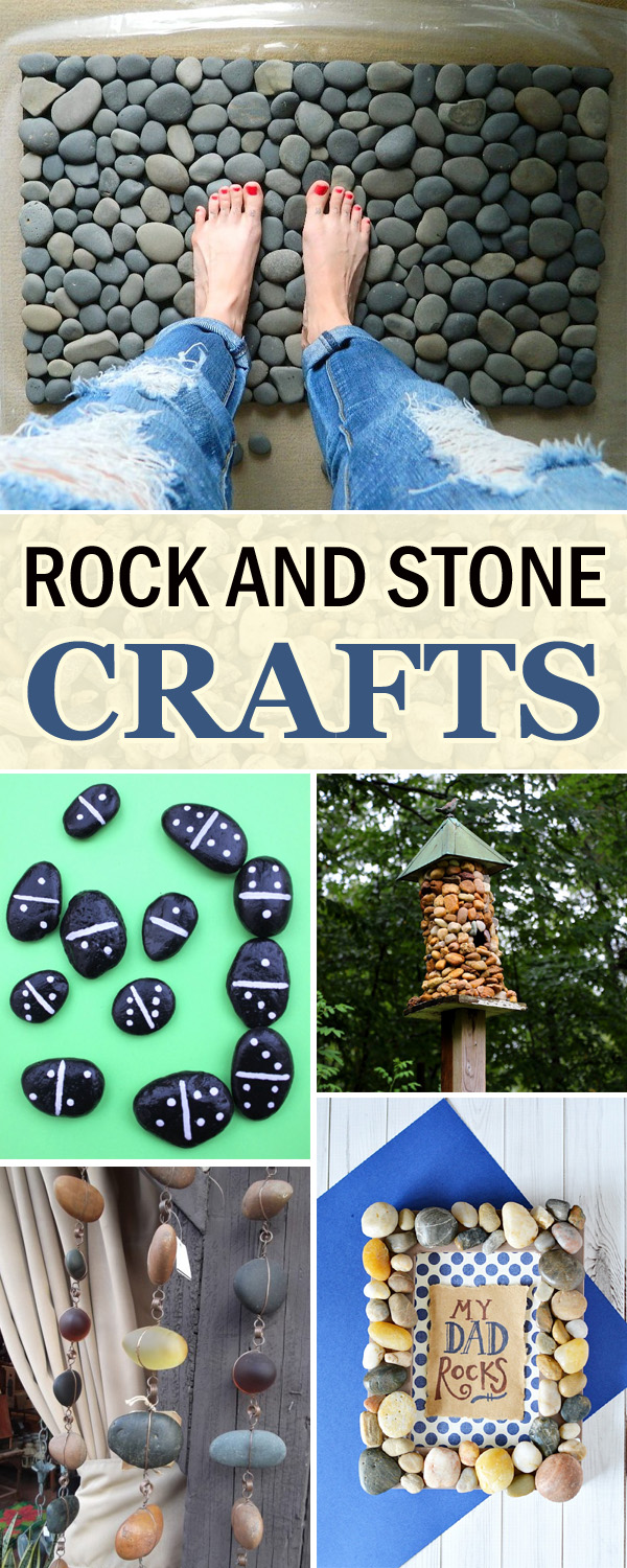 17 Super Cool Rock and Stone Crafts