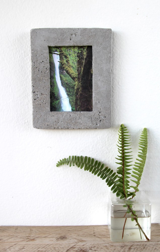 Concrete Photo Frame
