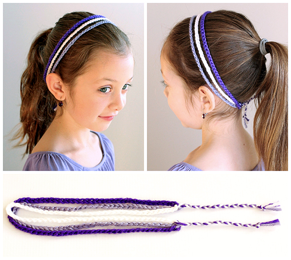 Easy 3 Strand Crochet Headband