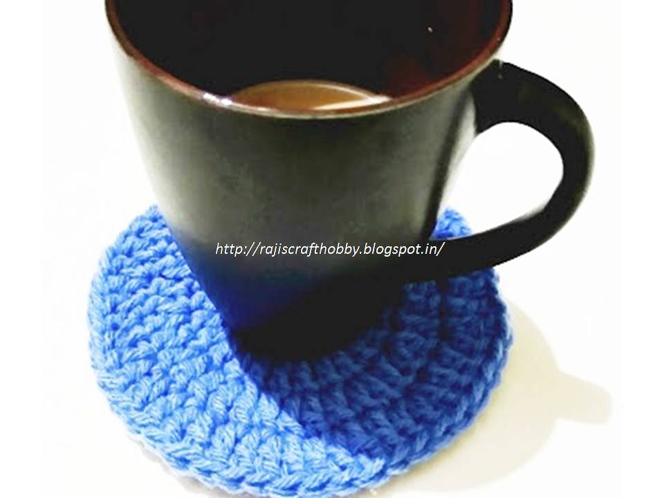 Simple Crochet Coaster