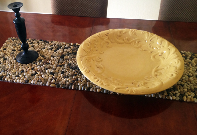Stone Table Runner
