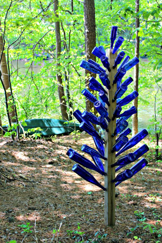 Bottle Tree Yard Art