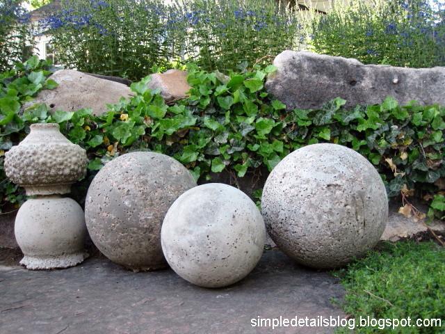 Concrete Garden Spheres