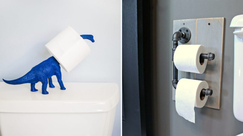 DIY Toilet Paper Holders