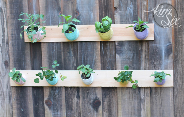 PVC Pipe Vertical Garden