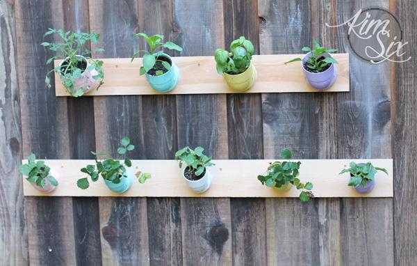 PVC Pipe Vertical Garden