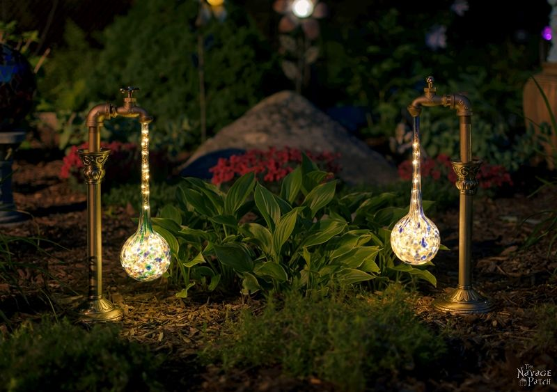 Waterdrop Solar Lights