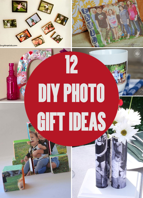 12 DIY Photo Gift Ideas for Your Friends and Family