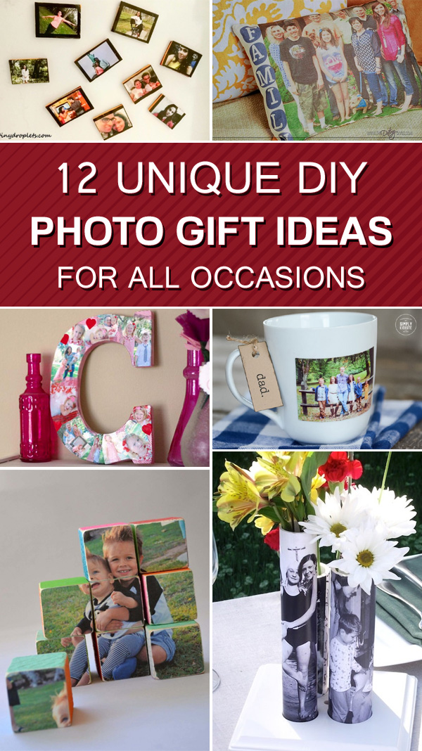 12 Unique DIY Photo Gift Ideas For All Occasions