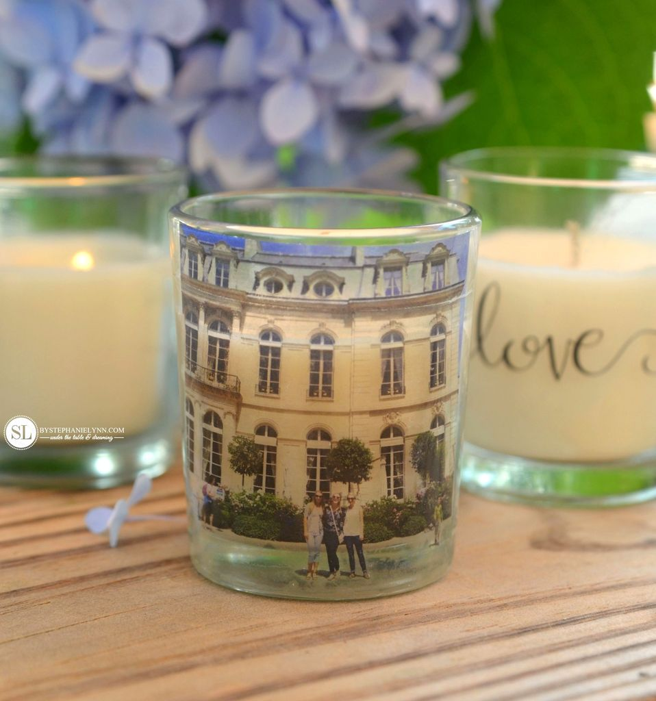 Photo Candle Holders