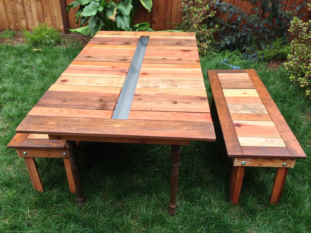 Picnic Table Picnic Table with Built-In Cooler
