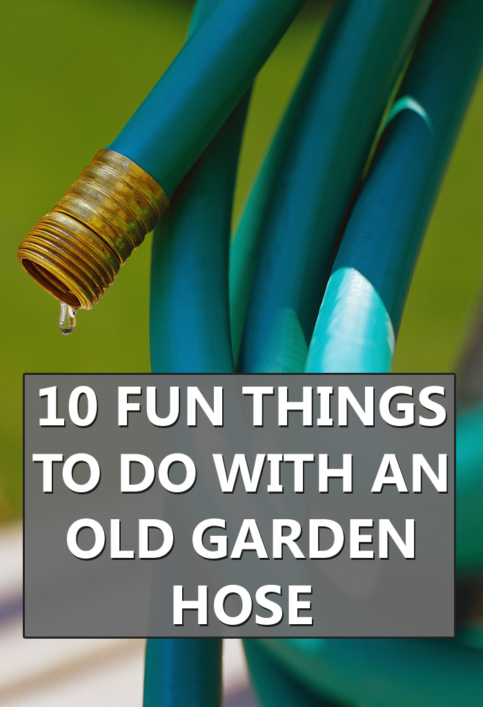 10 Fun Things to Do With an Old Garden Hose