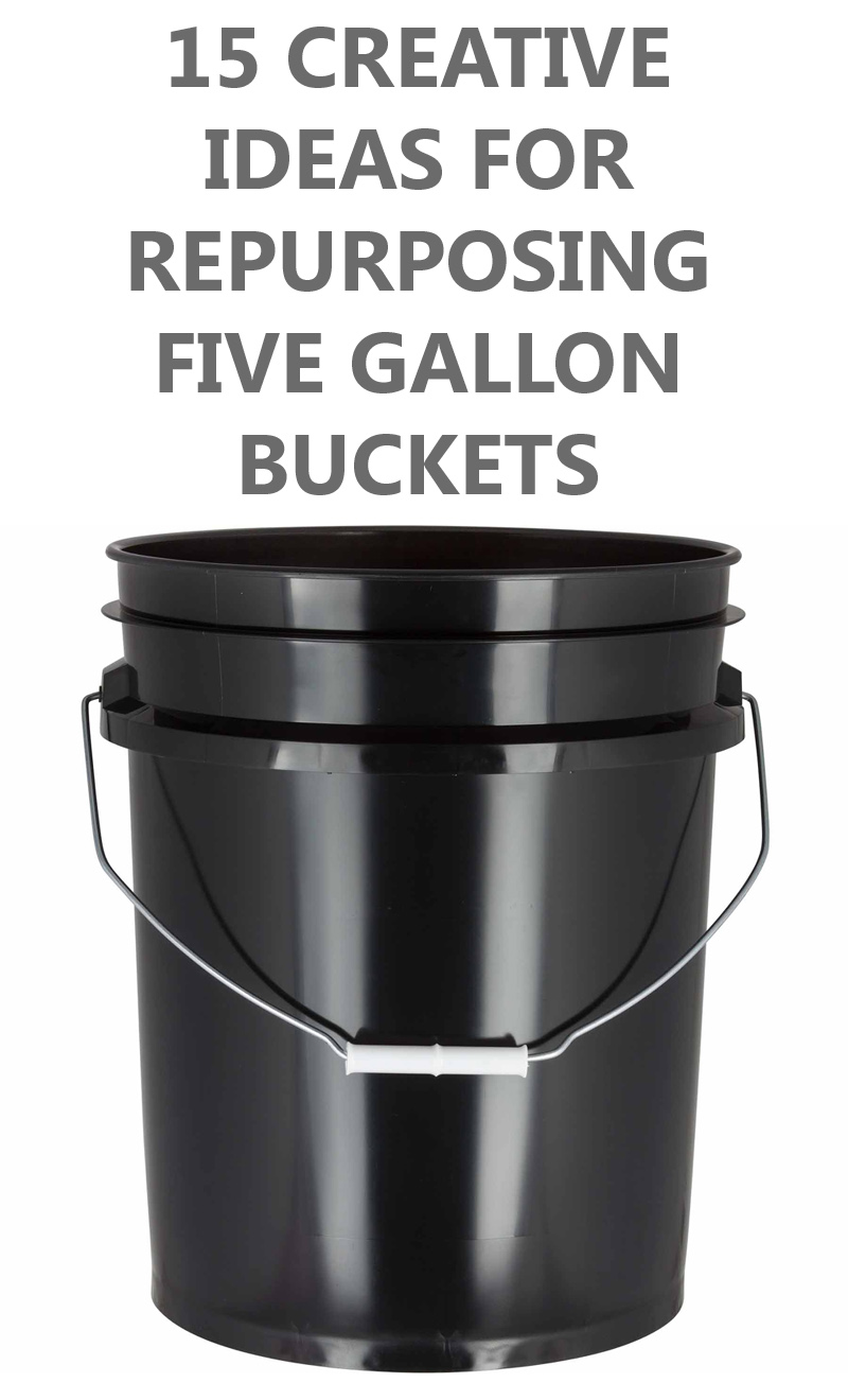 15 Creative Ideas For Repurposing Five Gallon Buckets