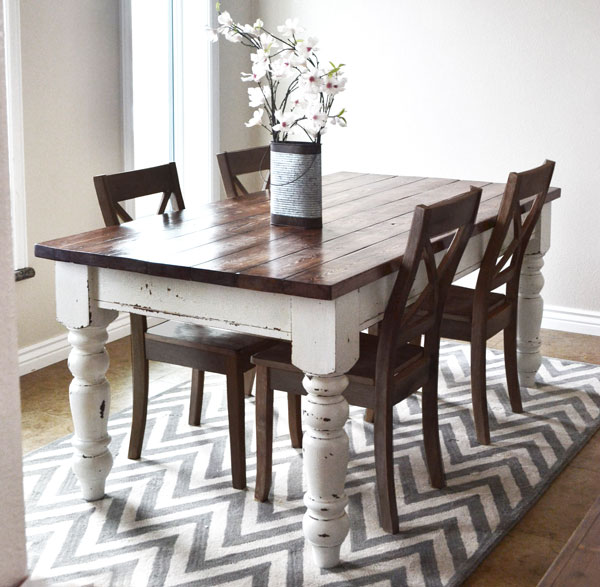 Farmhouse Dinning Table