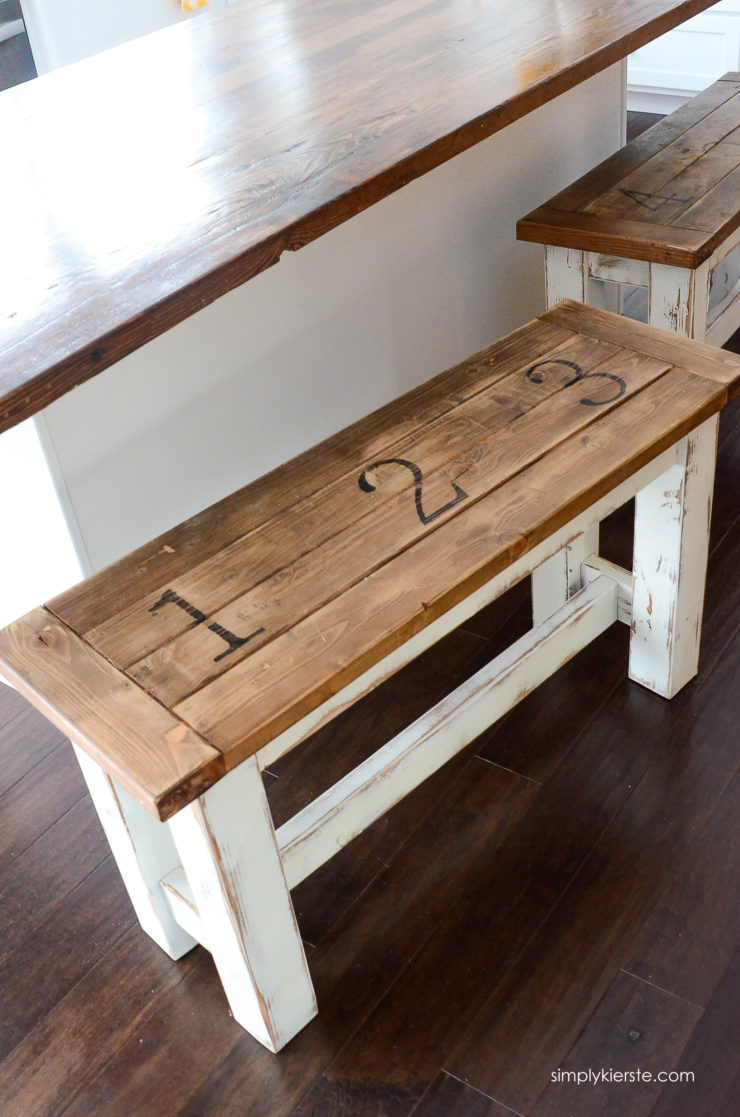 Farmhouse Kitchen Benches