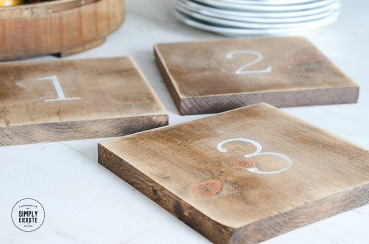 wooden trivets