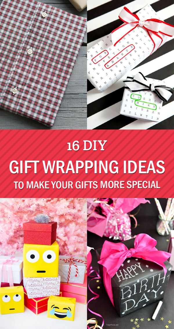 16 DIY Gift Wrapping Ideas To Make Your Gifts More Special