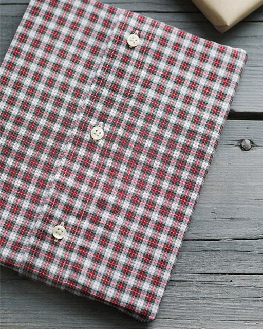 Button-Up Shirt Gift Wrap