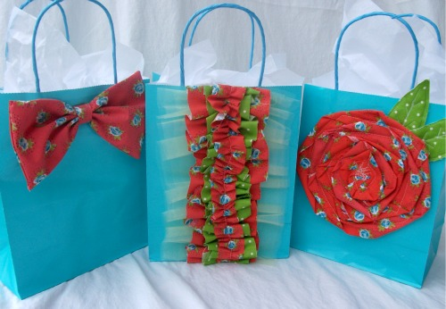 Embellished Gift Bags