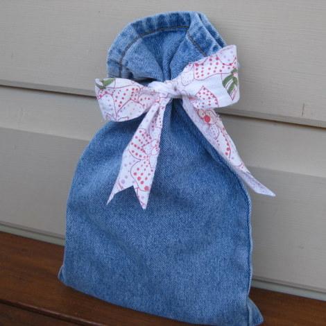 Pant Leg Gift Bag
